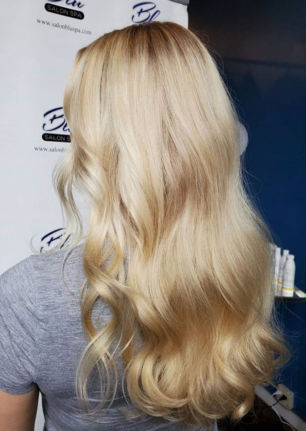 french toast colored blond hair