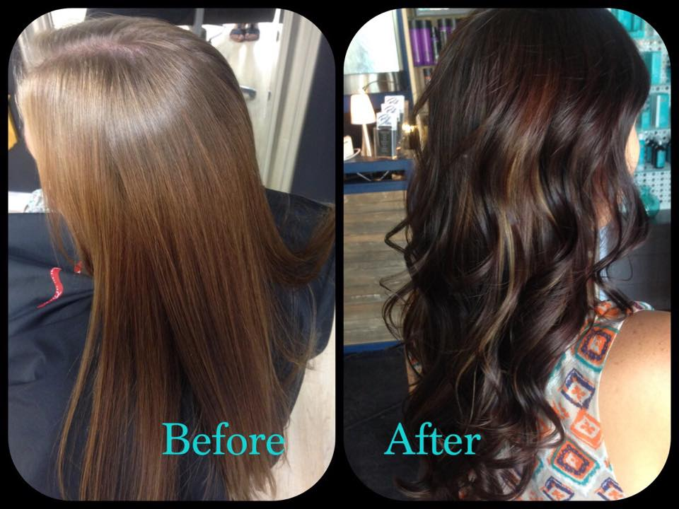 Before and after- drab to fab